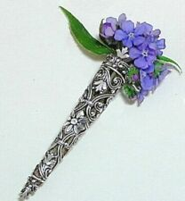 Posy Pin brooch - ideal flower holder for special occasions