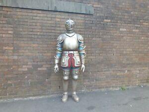 Life Size Knight Indoor Outdoor Figure Prop Decoration