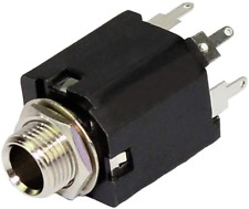 New listing DaierTek 10Pcs 6.35mm 1/4 Inch Stereo Audio Guitar Jack Female Mini Socket Conne