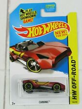 2014 Hot Wheels Hw Off-Road Carbonic104/250 (Satin Red Version) - H134