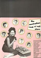 THE AUSTRALIAN ROCK 'N' ROLL STARS - various artists LP
