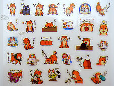 Shiba Inu stickers! Kawaii Japanese dog emoticon faces, cute emoji, puppy, Asian