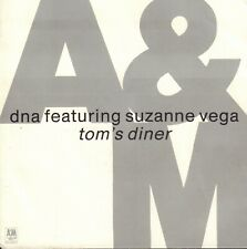 "DNA Featuring SUZANNE VEGA – Tom's Diner (1990 VINYL SINGLE 7"" EUROPE)"