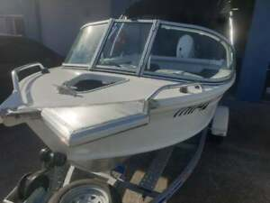 Aluminium Boat Electric Motor Mount Cabin/Windscreen Motorguide Minn Kota Waters