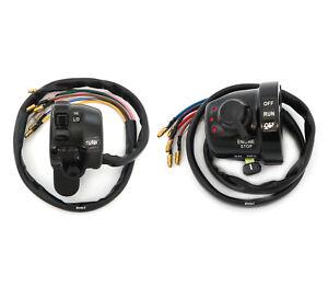 Handlebar Switch Assemblies - Left & Right - Yamaha RD250/350