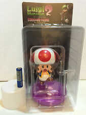 LUIGI's Mansion Dark Moon NINTENDO TOAD BIG FIGURE JAPAN RARE