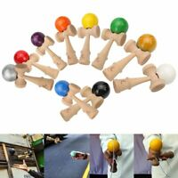 All colourful Wood Kendama Ball Education Traditional Japanese Game Toy New