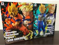 Banpresto Dragon Ball Z Absolute Perfection Figure Gokou Vegeta 15cm FS 2018