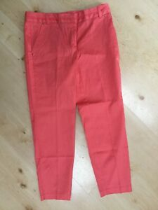 New George Coral super skinny cropped capri pants size 8 50's Pedal pusher Jeans