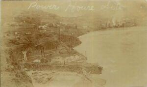 Oregon Power House Site C-1910 RPPC Photo Postcard 21-10411
