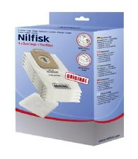 GENUINE NILFISK VACUUM CLEANER BAGS + FILTER POWER P10 P20 P40 SELECT  128389187