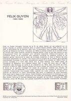 Document Philatélique Timbre  1er Jour : 23/06/ 1979 - Félix Guyon