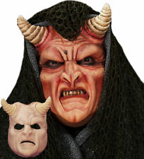 Morris Costumes Prosthetic Demon Full Face Foam Soft Spongy Latex Mask. HD600119