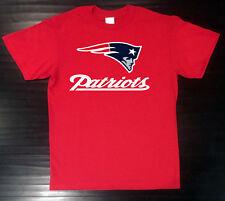 New England Patriots T-Shirt Graphic Cotton Logo NE Jersey Men Adult