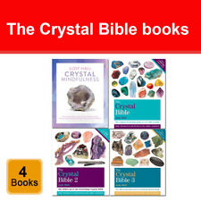 The Crystal Bible 4 Books Collection Set Pack by Judy Hall Crystal Mindfulness