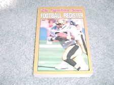 1987 NFL Football Register Media Guide New Orleans Saints Rueben Mayes Cover