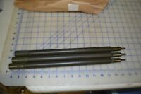 military shelter half tent POLES ONLY lot of 3 new USA made 1980's