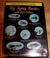 DVD: How To Fly Fish Series, Fly Tying Basics w Dick Talleur,Tools & Techniques
