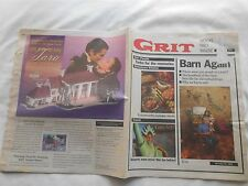 GRIT-NOVEMBER 20,1994-BARN AGAIN-WHY ARE BARNS RED?