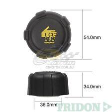 TRIDON RADIATOR CAP FOR Renault Laguna 3.0 V6 03/02-01/06 V6 3.0L L7X 731F 24V