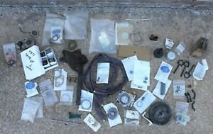 1926 1927 Ford Model T Coupe Parts Lot Gaskets Knobs Bulbs Window Reg Engine