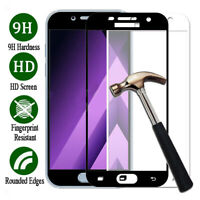 Full Cover Tempered Glass Screen Protector Film for Samsung Galaxy A3 A5 A7