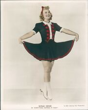 "Picturegoer Photograph Sonja Henie Press photo "" Everything Happens at night"