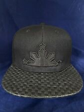 Philippines hat filipino pinoy pinay flag 3 stars and sun Banig Brim Black Black