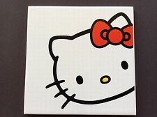 "Hello Kitty Tile 8""x8"" Ceramic Sanrio Deco"