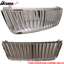 Fits 03-06 Ford Expedition Upper Billet Grille Grill Chrome