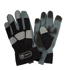 Prefit Mechanics Work Gloves Washable Safety Hand Protection Heavy Gardening Dut