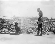 "James Jeffries vs Jack Johnson, 1910 Reno NV, antique sports, BOXING, 14""x11"""