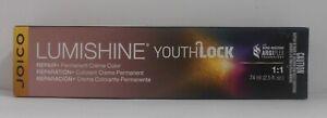 JOICO LUMISHINE YouthLock Permanent Creme ArgiPlex Technology Hair Color ~2.5 oz
