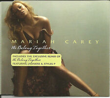 MARIAH CAREY We Belong together w/ REMIX 2TRX Europe CD single SEALED USA seller
