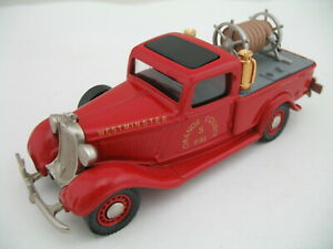 Brooklin Model Car BRK16F:1935 Dodge Truck, Orange County (Westminster, CA) Fire