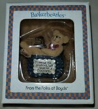 "Boyd's Bears Basketbearies Sweetie ""Promise Me Anything, But Give Me Chocolate!"""