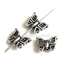 10 Intercalaires spacer Papillon 9x11x4mm Perles apprêts création bijoux _  A286