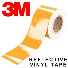 3M Scotchlite 580 Reflective Tape - Full Colour Range Black White Decal Strip UK