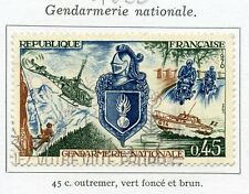 STAMP / TIMBRE FRANCE OBLITERE N° 1622 GENDARMERIE NATIONALE