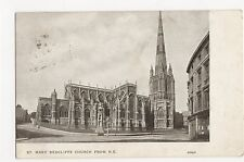 Bristol, St. Mary Redcliff Church from N.E. Postcard, A789