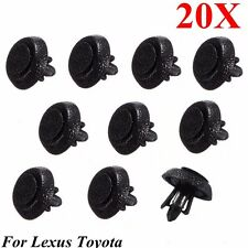 20x Car Bumper Grille Push-Type Retainer Clips For Lexus/Toyota #90467-07211 NEW