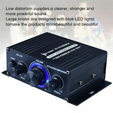 NEW 400W HIFI Digital Bluetooth Stereo Audio Power Amplifier FM Radio Mic Car HK