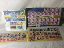 Collection Of Vintage American Stamps Including Rare Space Set