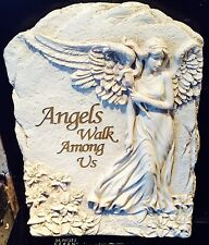 latex mould for making Beautiful angel plaque