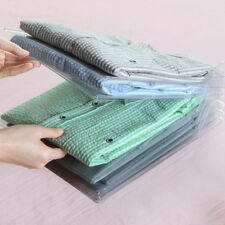 10Pcs T-Shirt Folding Board Folder Clothes Flip Stacking Ward Organizer Tool