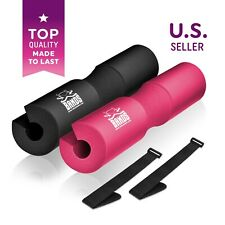 The X Bands Foam Barbell Pad Squat Bar Support Weight Lifting Pull Neck Protect