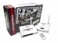 iAVsender iPod to TV 2.4GHz Wireless Audio/Video Docking Station with Remote NEW