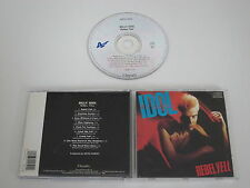 BILLY IDOL/REBEL YELL(CHRYSALIS CDP 32 1450 2) CD ALBUM