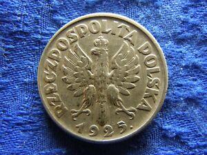 POLAND 2 ZLOTE 1925 (l) dot after date, KM16