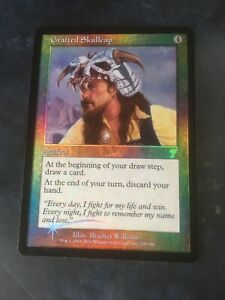 MTG 1 X Foil Grafted Skullcap from 7th